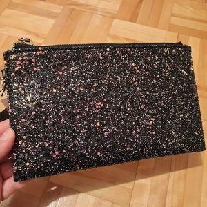 ⭐3/25$ Charming Charlie black & glitter pouch